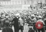 Image of Russian people demonstrating in Kronstadt Russia, 1924, second 4 stock footage video 65675064327