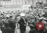 Image of Russian people demonstrating in Kronstadt Russia, 1924, second 6 stock footage video 65675064327