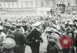 Image of Russian people demonstrating in Kronstadt Russia, 1924, second 7 stock footage video 65675064327