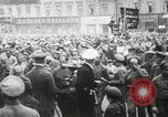 Image of Russian people demonstrating in Kronstadt Russia, 1924, second 8 stock footage video 65675064327