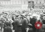 Image of Russian people demonstrating in Kronstadt Russia, 1924, second 10 stock footage video 65675064327