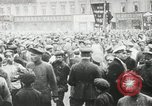 Image of Russian people demonstrating in Kronstadt Russia, 1924, second 11 stock footage video 65675064327