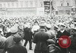 Image of Russian people demonstrating in Kronstadt Russia, 1924, second 12 stock footage video 65675064327