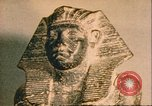 Image of Egyptian sculptures and Amenemhet Egypt, 1951, second 2 stock footage video 65675064344
