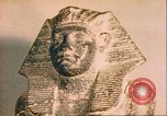 Image of Egyptian sculptures and Amenemhet Egypt, 1951, second 3 stock footage video 65675064344