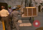 Image of Transporting King Tutankhamun treasures Norfolk Virginia USA, 1976, second 8 stock footage video 65675064348