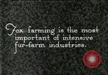 Image of fur industry United States USA, 1930, second 1 stock footage video 65675064358