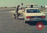 Image of Marijuana detection dog San Diego California USA, 1975, second 7 stock footage video 65675064379