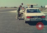 Image of Marijuana detection dog San Diego California USA, 1975, second 8 stock footage video 65675064379