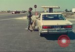 Image of Marijuana detection dog San Diego California USA, 1975, second 10 stock footage video 65675064379
