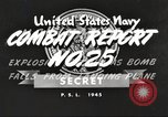 Image of USS Hancock Pacific Theater, 1945, second 8 stock footage video 65675064396