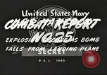 Image of USS Hancock Pacific Theater, 1945, second 9 stock footage video 65675064396