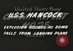 Image of USS Hancock Pacific Theater, 1945, second 10 stock footage video 65675064396