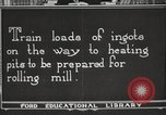 Image of iron and steel factory United States USA, 1922, second 2 stock footage video 65675064416