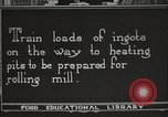 Image of iron and steel factory United States USA, 1922, second 12 stock footage video 65675064416