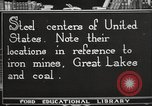 Image of steel factory United States USA, 1922, second 3 stock footage video 65675064418
