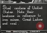 Image of steel factory United States USA, 1922, second 5 stock footage video 65675064418