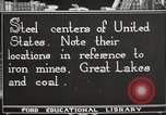 Image of steel factory United States USA, 1922, second 7 stock footage video 65675064418