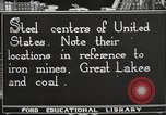 Image of steel factory United States USA, 1922, second 8 stock footage video 65675064418