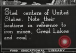 Image of steel factory United States USA, 1922, second 11 stock footage video 65675064418