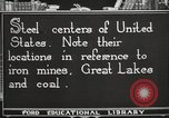 Image of steel factory United States USA, 1922, second 12 stock footage video 65675064418