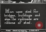 Image of iron and steel United States USA, 1922, second 2 stock footage video 65675064419