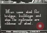 Image of iron and steel United States USA, 1922, second 6 stock footage video 65675064419