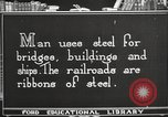 Image of iron and steel United States USA, 1922, second 10 stock footage video 65675064419