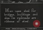 Image of iron and steel United States USA, 1922, second 12 stock footage video 65675064419