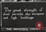 Image of iron and steel United States USA, 1922, second 1 stock footage video 65675064420