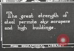 Image of iron and steel United States USA, 1922, second 3 stock footage video 65675064420