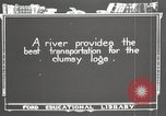 Image of lumber industry United States USA, 1920, second 2 stock footage video 65675064424