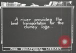 Image of lumber industry United States USA, 1920, second 3 stock footage video 65675064424