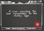 Image of lumber industry United States USA, 1920, second 5 stock footage video 65675064424