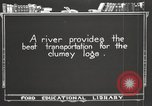 Image of lumber industry United States USA, 1920, second 6 stock footage video 65675064424