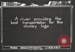 Image of lumber industry United States USA, 1920, second 7 stock footage video 65675064424