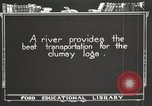 Image of lumber industry United States USA, 1920, second 8 stock footage video 65675064424