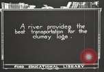 Image of lumber industry United States USA, 1920, second 9 stock footage video 65675064424