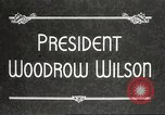 Image of President Woodrow Wilson Washington DC USA, 1916, second 4 stock footage video 65675064439