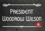 Image of President Woodrow Wilson Washington DC USA, 1916, second 5 stock footage video 65675064439