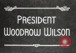 Image of President Woodrow Wilson Washington DC USA, 1916, second 6 stock footage video 65675064439