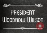 Image of President Woodrow Wilson Washington DC USA, 1916, second 7 stock footage video 65675064439