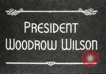 Image of President Woodrow Wilson Washington DC USA, 1916, second 8 stock footage video 65675064439