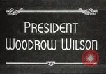 Image of President Woodrow Wilson Washington DC USA, 1916, second 9 stock footage video 65675064439