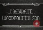 Image of President Woodrow Wilson Washington DC USA, 1916, second 10 stock footage video 65675064439
