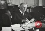 Image of President Woodrow Wilson Washington DC USA, 1917, second 12 stock footage video 65675064440