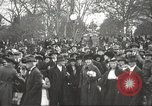 Image of Armistice Day parade with Woodrow Wilson and flamboyant drum major Washington DC USA, 1918, second 7 stock footage video 65675064442
