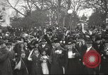 Image of Armistice Day parade with Woodrow Wilson and flamboyant drum major Washington DC USA, 1918, second 9 stock footage video 65675064442