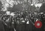 Image of Armistice Day parade with Woodrow Wilson and flamboyant drum major Washington DC USA, 1918, second 10 stock footage video 65675064442