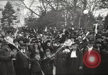 Image of Armistice Day parade with Woodrow Wilson and flamboyant drum major Washington DC USA, 1918, second 11 stock footage video 65675064442